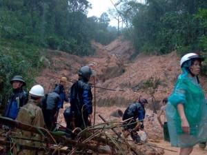 Đã tìm thấy 7 nạn nhân vụ sạt đồi ở Quảng Ninh