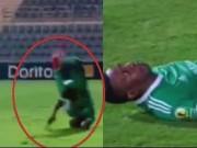 Video bóng đá hot - Ngã gãy 5 đốt xương, cầu thủ có nguy cơ tàn phế