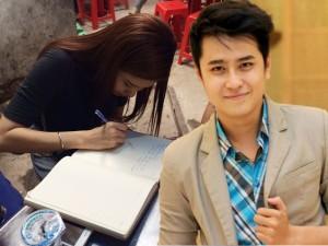 Trương Quỳnh Anh ngậm ngùi viếng MC Quang Minh