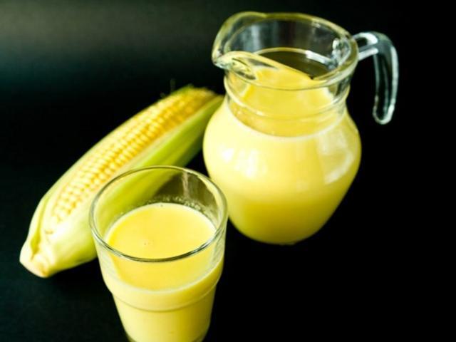 Cách làm sữa ngô thơm ngon tại nhà