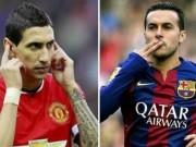 """Bóng đá - Bán Di Maria mới mua Pedro: """"Canh bạc"""" của Van Gaal"""