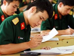 Tuyển sinh 2016 - Ngưỡng điểm xét tuyển trường Công an, Quân đội