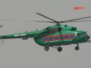 Video An ninh - Lào: Trực thăng chở 23 người gặp nạn