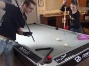 Billard - Snooker - ''Trai tài gái sắc'' biểu diễn bi-a tuyệt đỉnh