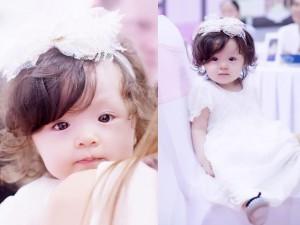 8X + 9X - Cadie Mộc Trà xinh như thiên thần đón sinh nhật 1 tuổi