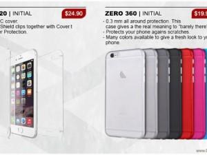 """Điện thoại - Vỏ đựng """"tố"""" thiết kế iPhone 6S"""