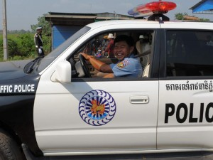 CSGT Campuchia hớn hở vì được giữ 70% tiền phạt
