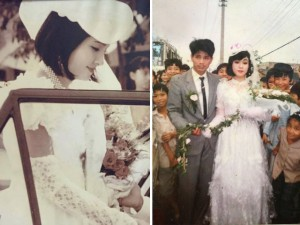 Bạn trẻ - Cuộc sống - Dân mạng đua nhau khoe ảnh cưới của bố mẹ