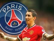 Bóng đá Ngoại hạng Anh - NÓNG: MU – PSG đạt thỏa thuận chiêu mộ Di Maria