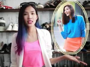 Người mẫu - Hoa hậu - Hoàng Thùy bật mí cách tạo dáng chụp ảnh street style