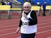 Các môn thể thao khác - Cụ 96 tuổi liên tiếp phá 2 kỷ lục chạy 100m & 200m
