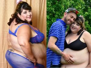 Người mẫu xinh đẹp hái ra tiền từ thân hình quá béo