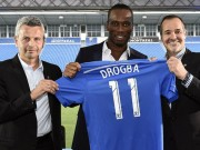 Bóng đá Đức - Tin HOT tối 31/7: Drogba khoác áo số 11 ở Montreal