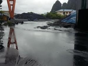 Mưa lũ ở Quảng Ninh: Cung ứng than cho ngành điện gặp khó
