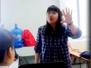 """Bạn trẻ - Cuộc sống - Clip: Cô giáo cung Bọ Cạp xưng """"mày – tao"""", chửi học viên"""