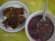 Ẩm thực - Dân dã canh tép khoai mỡ ăn với cá lóc muối sả ớt chiên