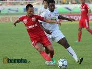 Bóng đá Việt Nam - Sôi động V-League V19: B.BD, HP bùng nổ