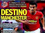 Tin chuyển nhượng - Pedro: Diễn viên phụ của Barca, ngôi sao mới của MU