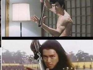 Những cảnh phim Châu Tinh Trì bắt chước Lý Tiểu Long