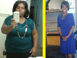 Quyết tâm giảm béo của bà mẹ 130kg