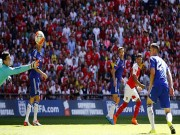 Bóng đá - Chamberlain dứt điểm điệu nghệ tung lưới Chelsea