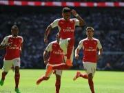 Bóng đá Ngoại hạng Anh - Arsenal đoạt Siêu Cup: Chiến thư trước thềm mùa giải
