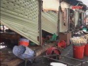 Video An ninh - TP.HCM: Lửa thiêu rụi 7 ki ốt tại chợ nông sản Thủ Đức