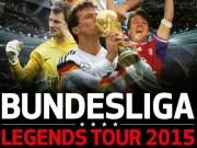 """Bóng đá - Huyền thoại Đức chu du thế giới """"chào"""" Bundesliga"""