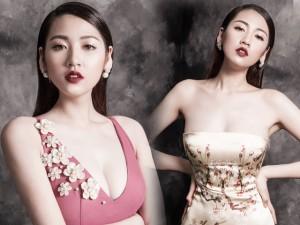 Người mẫu - Hoa hậu - Hậu giảm cân, Tú Anh tự tin khoe dáng đồng hồ cát