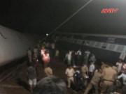 Video An ninh - Tai nạn tàu hỏa kinh hoàng, 300 người Ấn Độ thương vong