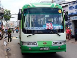 Tin tức Việt Nam - TP.HCM: Cụ ông hành nghề xe ôm bị xe buýt cán chết