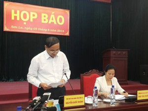 Tin tức trong ngày - UBND tỉnh Sơn La họp báo vụ tượng đài 1.400 tỷ