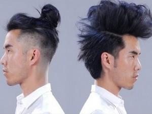 Tư vấn làm đẹp - 1 chàng trai biến hóa với 12 kiểu tóc trong 2 phút