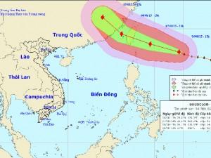 Tin tức Việt Nam - Siêu bão Soudelor gây gió mạnh ở bắc biển Đông