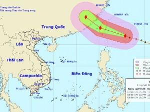 Tin tức Việt Nam - Đêm nay, bão Soudelor gây gió cấp 9-10 ở bắc biển Đông