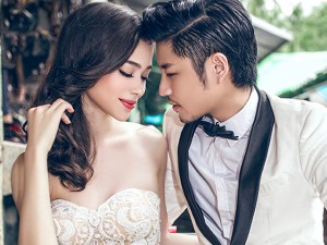 Thời trang - MC Thái Lan làm cô dâu của Hồ Vĩnh Anh