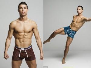 Thời trang - Cristiano Ronaldo làm người mẫu mặc nội y tự thiết kế