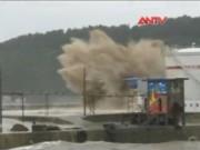 """An ninh thế giới - Clip: Siêu bão Soudelor """"quật phá"""" đông nam Trung Quốc"""
