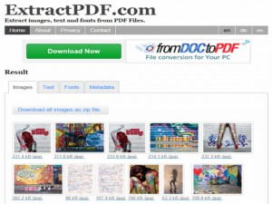 Công nghệ thông tin - Các công cụ chuyển PDF thành tập tin ảnh hiệu quả