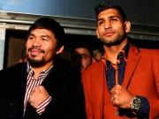 Thể thao - Bỏ qua Mayweather, Amir Khan sẽ đấu với Pacquiao