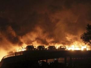 Tin tức trong ngày - Nổ kho hóa chất ở Trung Quốc, 13 người chết