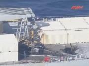 Video An ninh - Trực thăng quân sự Mỹ chở 17 người rơi ở Nhật Bản