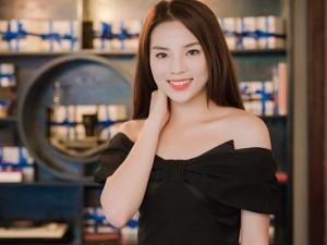 Người mẫu - Hoa hậu - Hoa hậu Kỳ Duyên khoe vai trần gợi cảm