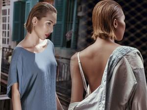 Thời trang - Siêu mẫu Minh Triệu duyên dáng trong chiếc váy mỏng