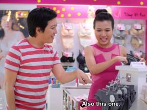 Hậu trường phim - Trường Giang nhí nhảnh đi mua ...đồ lót nữ