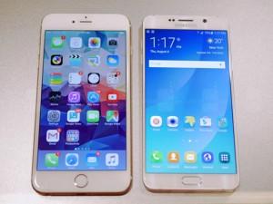 Dế sắp ra lò - Galaxy Note 5 đọ dáng iPhone 6 Plus