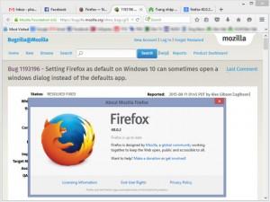"""Bị Windows 10  """" làm khó """" , Mozilla tung Firefox 40.0.2"""