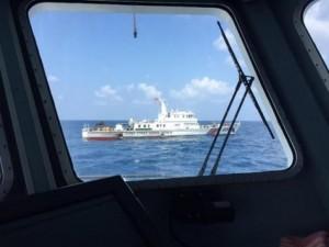 Tin tức Việt Nam - Tàu hải quân TQ ngăn cản tàu cứu nạn VN ở Hoàng Sa