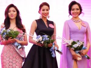 """Thời trang - Dàn á hậu, người mẫu """"đổ bộ"""" Hoa hậu Hoàn vũ Việt Nam"""