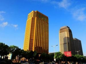 Chuyện lạ - Choáng với tòa nhà vàng làm lóa mắt cả thành phố